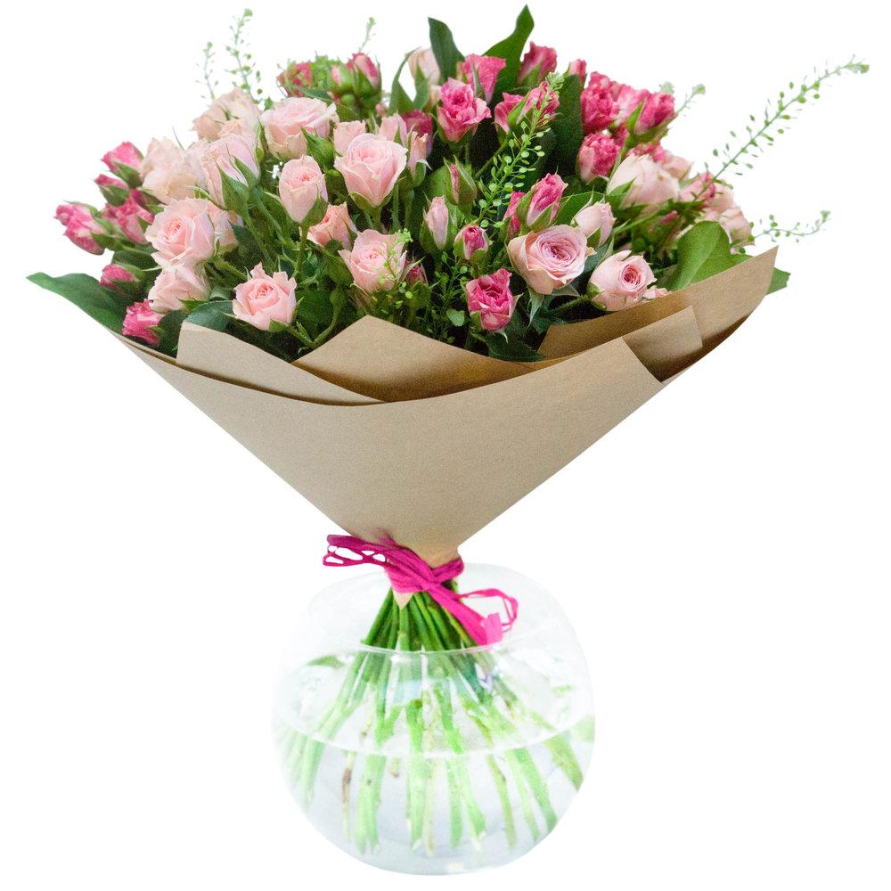 Цветы для составления букета из роз