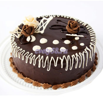 торт шоколадно-бисквитный
